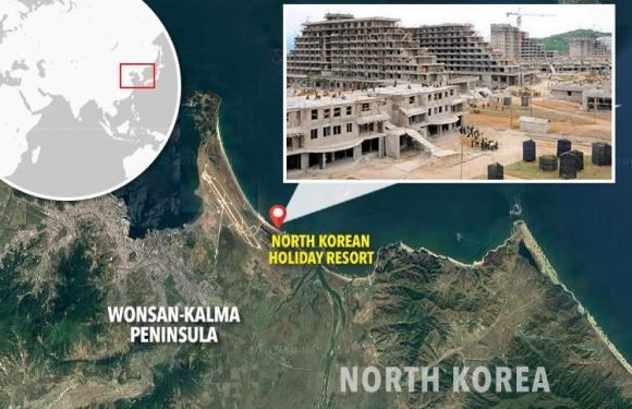 Inside North Korea's massive new holiday resort with three-mile beach… so would YOU go?