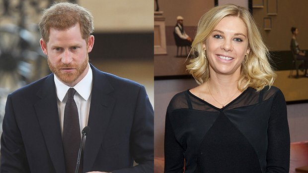 Prince Harry & Ex Chelsy Davy Shared A Tear Filled Phone Call Before He Married Meghan Markle