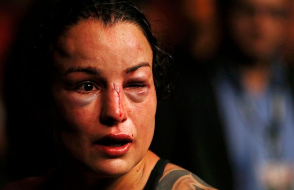 UFC coach ignores fighter's plea, forces her into bloody beatdown