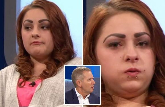 Jeremy Kyle fans mock guest's 'comedy' eyebrows as she admits cheating on her boyfriend FOUR times
