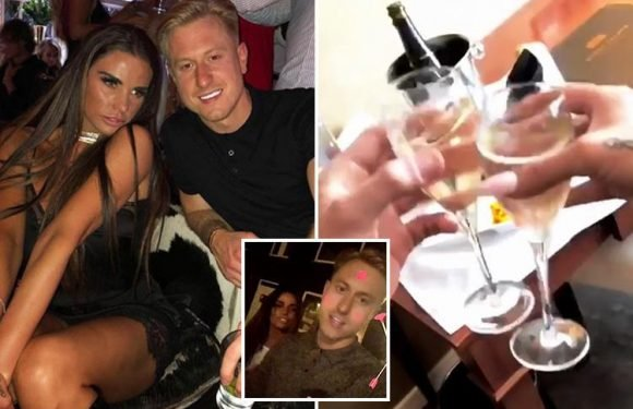 Katie Price spent her 40th birthday partying in Bruges with Z list reality star Kris Boyson