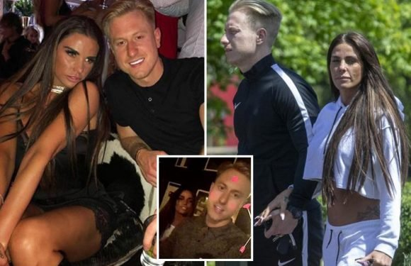 Katie Price pictured holding hands with new love interest Kris Boyson after spending romantic 40th birthday together in Belgium