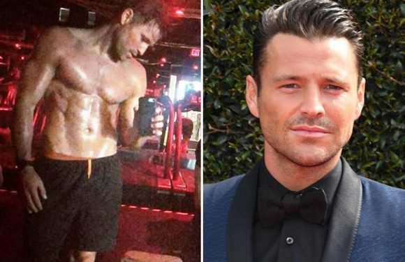Mark Wright posts sweaty shirtless picture after Friday night bootcamp
