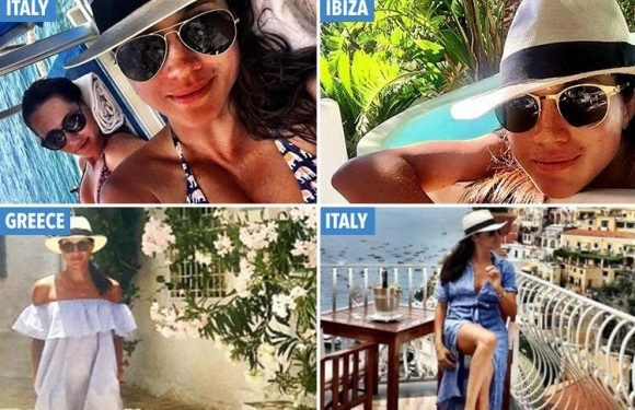 Positano, Madrid and IBIZA…Here's how to holiday like Meghan Markle (and what she packs in her suitcase)