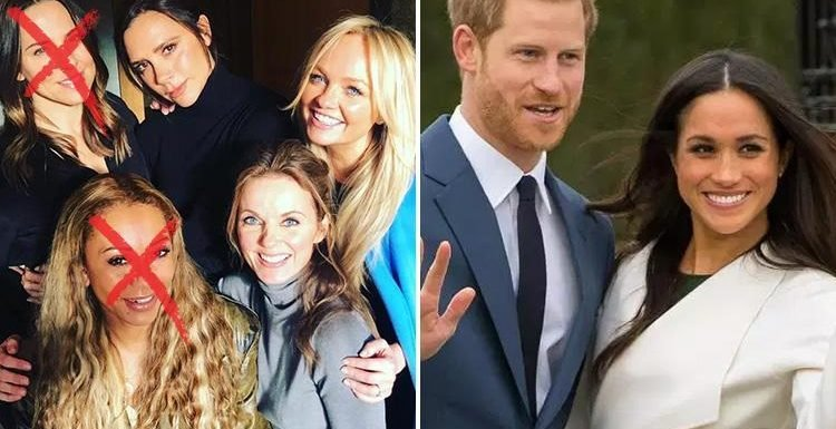 Meghan Markle and Prince Harry have 'invited the Spice Girls to the Royal Wedding' – but only three of them!
