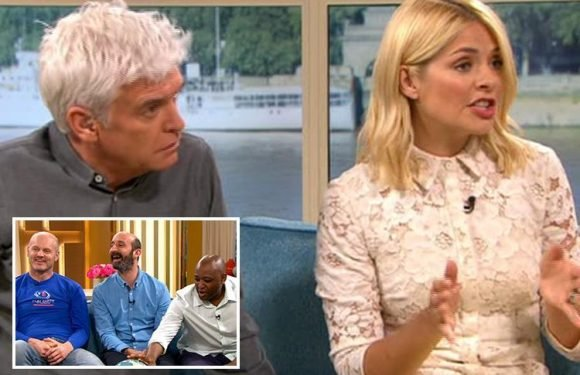 This Morning's Phillip Schofield and Holly Willoughby gobsmacked by three men who insist the earth is flat and Tim Peake was lying about going to space