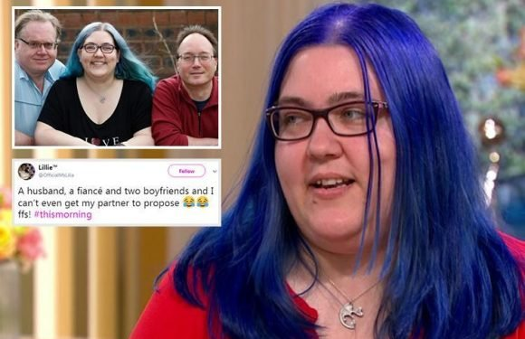 This Morning viewers in hysterics as woman says she's 'old fashioned' but has a husband, fiance and two boyfriends