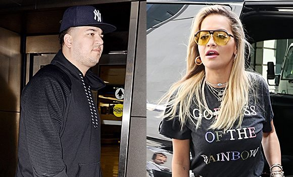 Rob Kardashian Supports Ex Rita Ora After She's Slammed For New Song & Fans Are Freaking Out