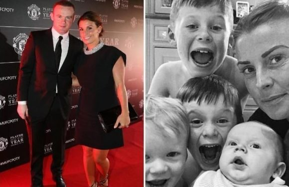 Coleen Rooney will spend her first ever anniversary with husband Wayne as she rules out having any more children
