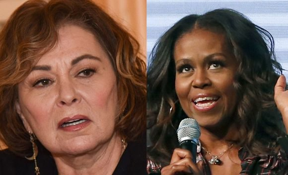 Roseanne Accuses Michelle Obama Of Being The Real Reason For Her ABC Show Getting Canceled