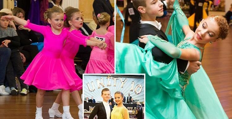 Spending £2k on dresses, travelling all over the country and giving up everything to make it big… inside the cut-throat world of junior ballroom dancing