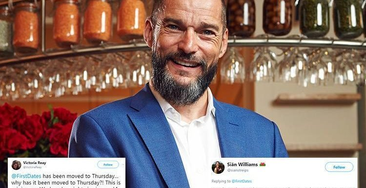 First Dates fans distraught over the popular show being moved to Thursday nights