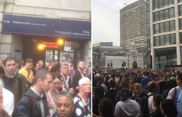London Victoria evacuated during rush-hour after fire alarm goes off sparking travel chaos