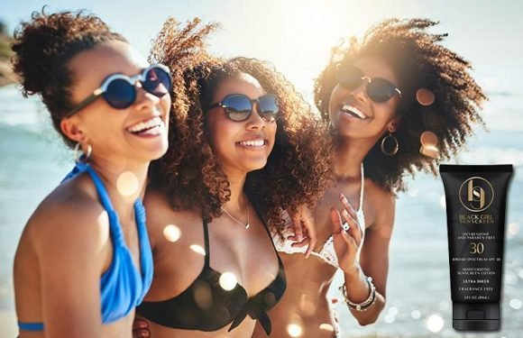 Sunscreen that doesn't leave a white residue on black skin now exists… and we can't believe it's taken this long to invent