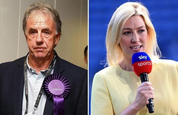 BBC's Mark Lawrenson makes 'sexist' remark about presenter Kelly Cates's handbag and equal pay during Liverpool v Roma match
