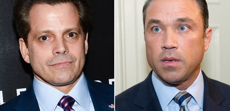 Scaramucci throws support behind convicted felon Grimm