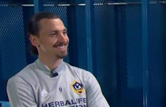 Ex-Manchester United striker Zlatan Ibrahimovic reveals he rejected £74m offer from Chinese Super League because 'it wasn't enough'