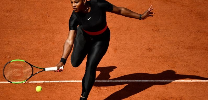Serena Williams just dropped a sexy fashion line