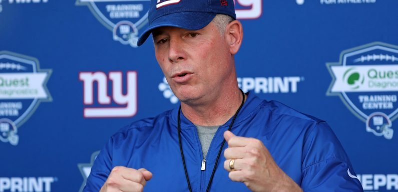 How Pat Shurmur is addressing anthem issue with Giants
