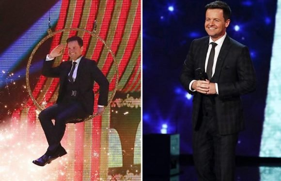Britain's Got Talent fans in tears as Declan Donnelly presents without Ant McPartlin for the first time – and brings dog Rocky along for support