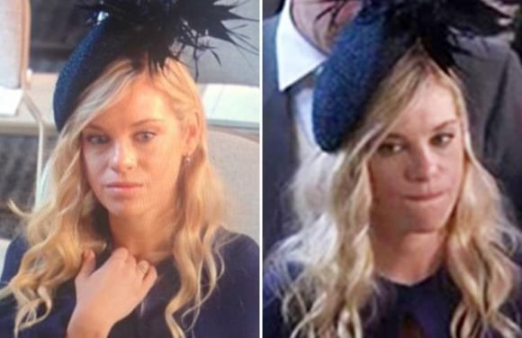 Prince Harry's ex Chelsy Davy mocked on Twitter for her Royal Wedding facial expressions as she watched him marry Meghan Markle