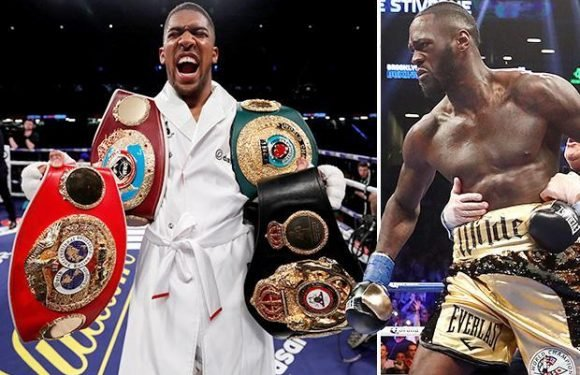 Anthony Joshua tells Deontay Wilder he will 'f*** him up' – but is refusing to fight in America due to judge and referee 'tricks'
