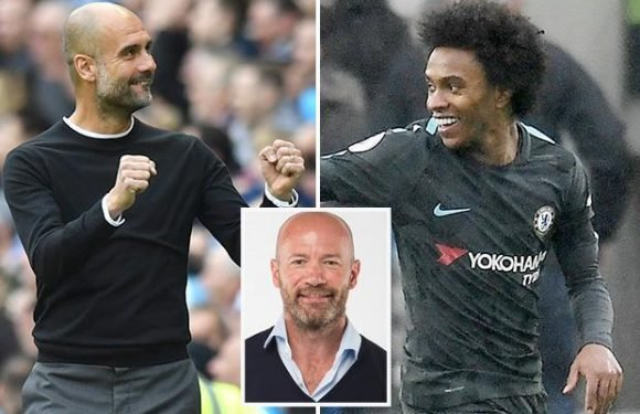 Alan Shearer's awards: Pep Guardiola is top boss, Willian scored best goal and Sean Dyche is the real hero