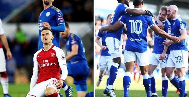 Arsenal's away record in 2018 even worse than League Two losers Chesterfield