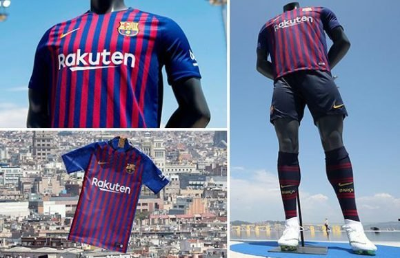 "Barcelona launch new kit with amazing use of a diving champ, synchronised swimmers, a drone and a ""special ode to the city"""