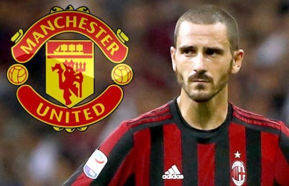 Manchester United and Bayern Munich lead chase for Leonardo Bonucci as AC Milan must sell after missing out on Champions League