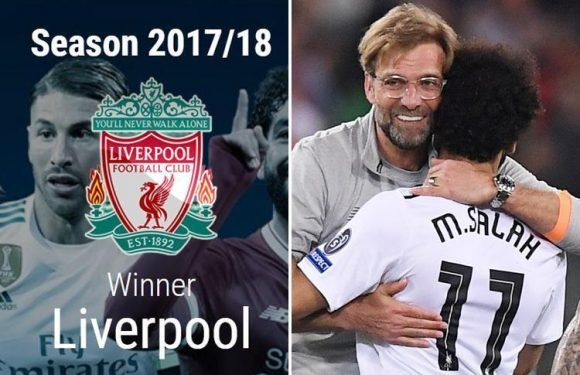 Uefa make huge blooper on official website by crowning Liverpool Champions League winners
