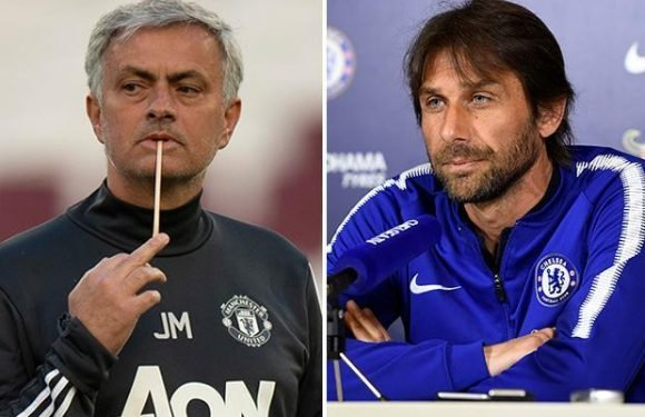 Antonio Conte fires what could be parting swipe at Jose Mourinho by saying Chelsea are better off than when they sacked the Manchester United boss
