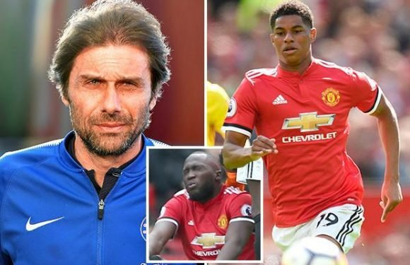 FA Cup final: Antonio Conte warns of Marcus Rashford threat if Romelu Lukaku loses race to be fit