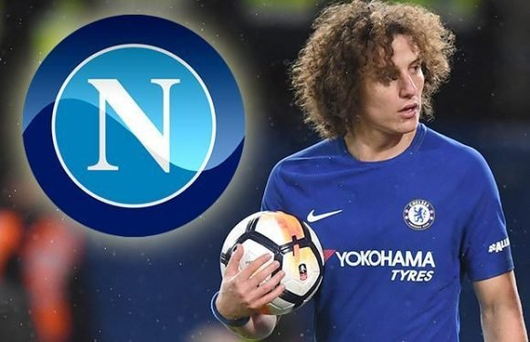 Chelsea outcast David Luiz could move to Napoli if Rafa Benitez returns to San Paolo as replacement for Maurizio Sarri