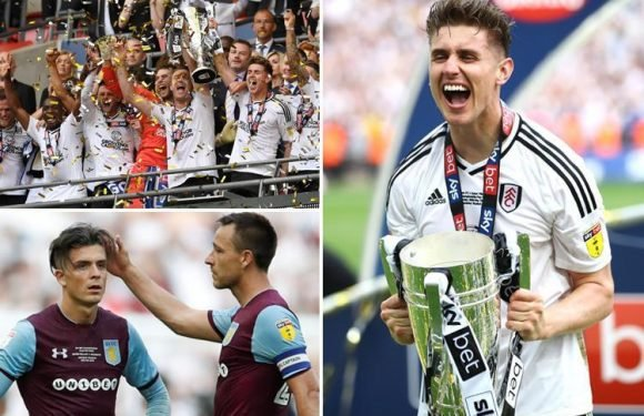 Fulham promoted to Premier League after beating Aston Villa in Championship play-off final