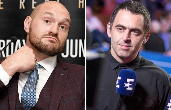 Tyson Fury 'employs' Ronnie O'Sullivan as his 'sports psychologist' ahead of June 9 ring comeback