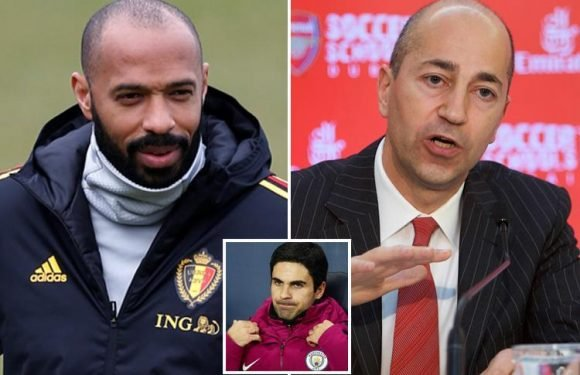 Thierry Henry summoned to Arsenal talks next week to discuss vacant manager's role