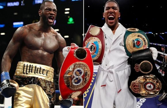 Anthony Joshua to hold talks today over Deontay Wilder showdown at Manchester United's Old Trafford this year