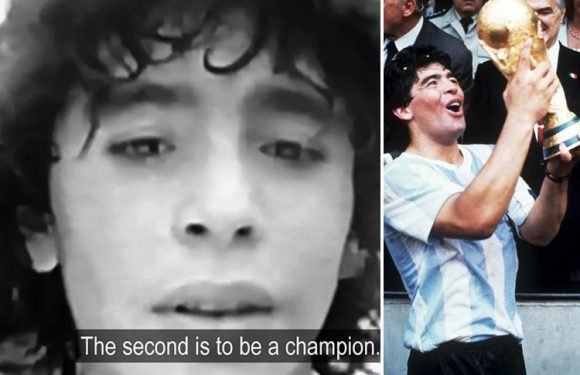 Diego Maradona predicted heroic Argentina World Cup win aged just 14