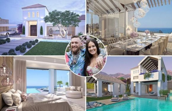 Conor McGregor buys £1.3m luxury villa in Marbella complete with customised gym and LED driveway