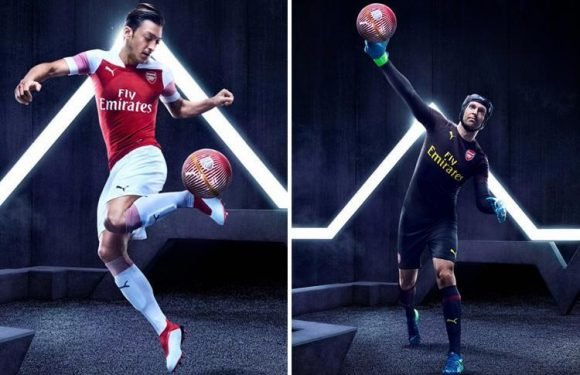 Arsenal reveal 2018-19 home kit as new squad numbers are announced… but do they hint at summer transfer plans?