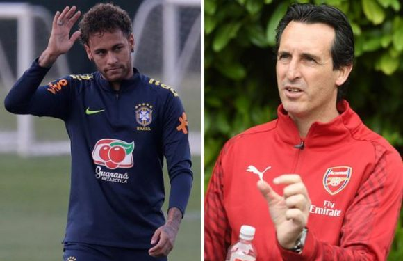 Unai Emery takes swipe at Neymar for having more power at PSG than him after taking charge of Arsenal