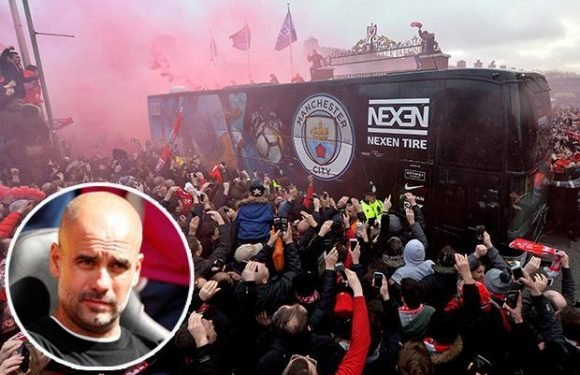 Manchester City furious that Liverpool bus attack has resulted in no punishment so far