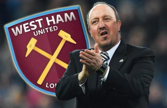 West Ham want Rafa Benitez to replace David Moyes as they target Newcastle boss this summer