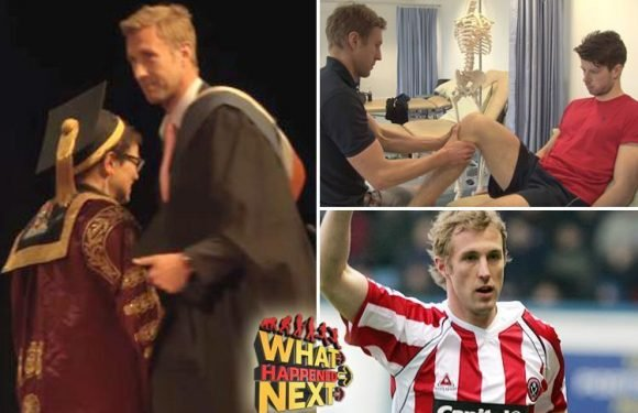 Rob Hulse: Former Leeds, Derby and Sheffield United striker is now a physio working for the NHS in Dudley