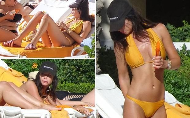 Dele Alli's model girlfriend Ruby Mae soaks in the sunshine at plush Vegas resort before she jets off to Russia
