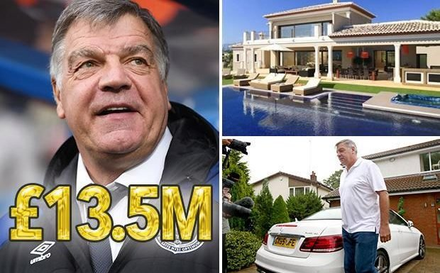 Sam Allardyce has made massive £13.5million in pay-offs after being axed by clubs