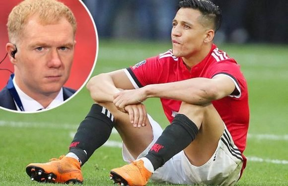 Manchester United forward Alexis Sanchez blasted by Paul Scholes after FA Cup horror show