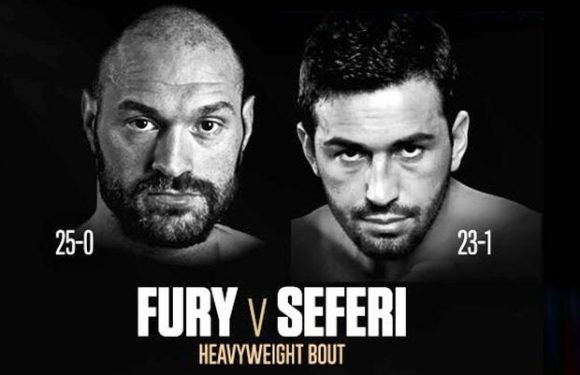Tyson Fury vs Sefer Seferi: Albanian heavyweight named as Gypsy King's first opponent in comeback on June 9 at Manchester Arena