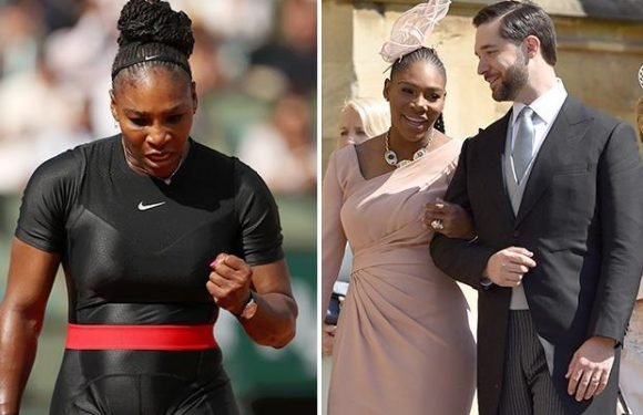 Serena Williams reveals delight at Royal Wedding invite after winning first Grand Slam match back after childbirth